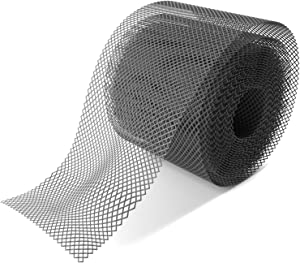 Home Intuition Gutter Guard Plastic Mesh Guards 6