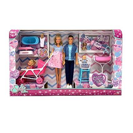 Simba 105738565 Steffi Love E La Sua Famiglia Gioco bambole