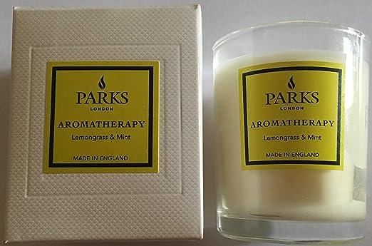 Parks Lot de 3 Mini Bougies parfum/ées aromath/érapie 8,5 cl