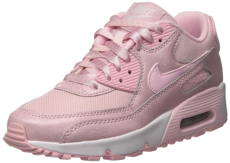 Nike Air Max 90 SE Mesh Big Kids (GS) Shoes Prism PinkWhite