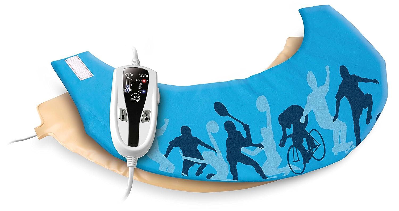 Daga Flexy-Heat NC Sport- Almohadilla Eléctrica Ergonómica para Nuca y Cervical, 40x15 cm, 35W y 4 Niveles de Temperatura: Amazon.es: Salud y cuidado ...
