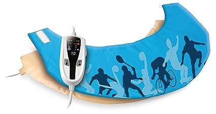 Daga Flexy-Heat NC Sport- Almohadilla Eléctrica Ergonómica para Nuca y Cervical, 40x15