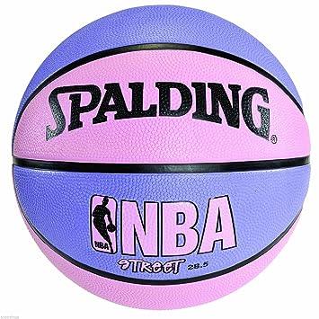 Spalding NBA Street - Balón de baloncesto (morado y rosa 28,5 ...