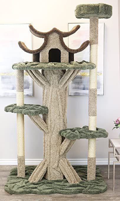 New Cat Condos Premier 7 Tall Cat Playground Amazon Co Uk Pet Supplies