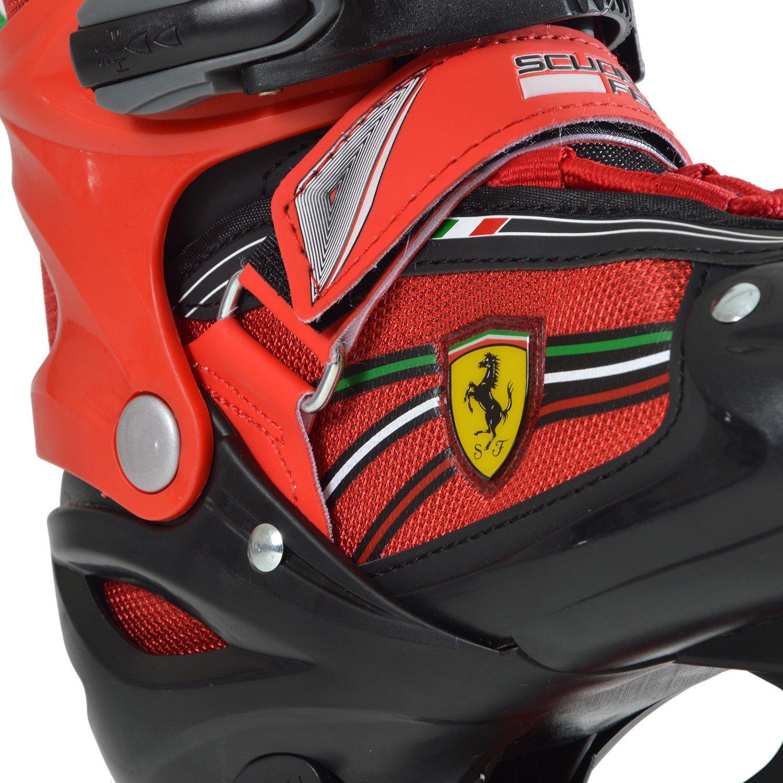 Enfant HEAD Enfants Adjustable Rollers Ferrari Rollers Adjustable Inline Skates Ferrari