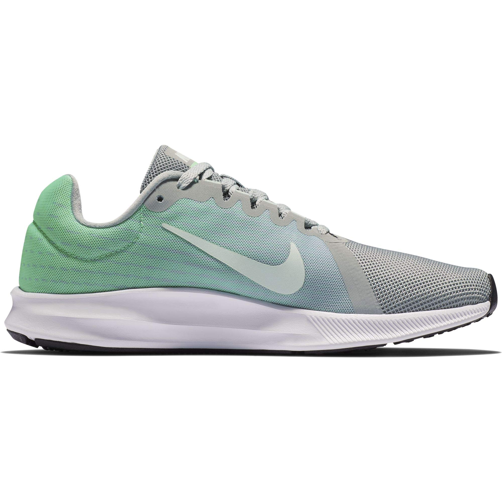 9b999b0a789a9 Galleon - NIKE Women s Downshifter 8 Running Shoe Light Pumice Igloo Green  Glow White Size 9.5 M US