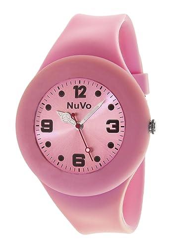 mieux choisir gamme exceptionnelle de styles et de couleurs véritable NuVo - NU13H21 - Montre Mixte détachable du bracelet ...