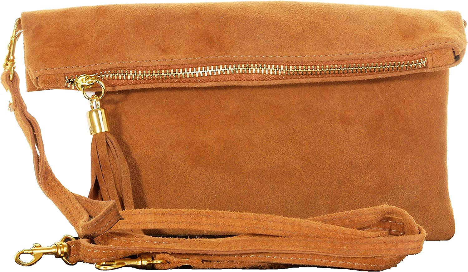 Italian Suede Leather Hand...
