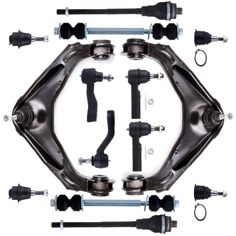 SCITOO Suspension Parts Control Arm Steering Link fit Silverado Sierra 5pcs 1500 2500 3500
