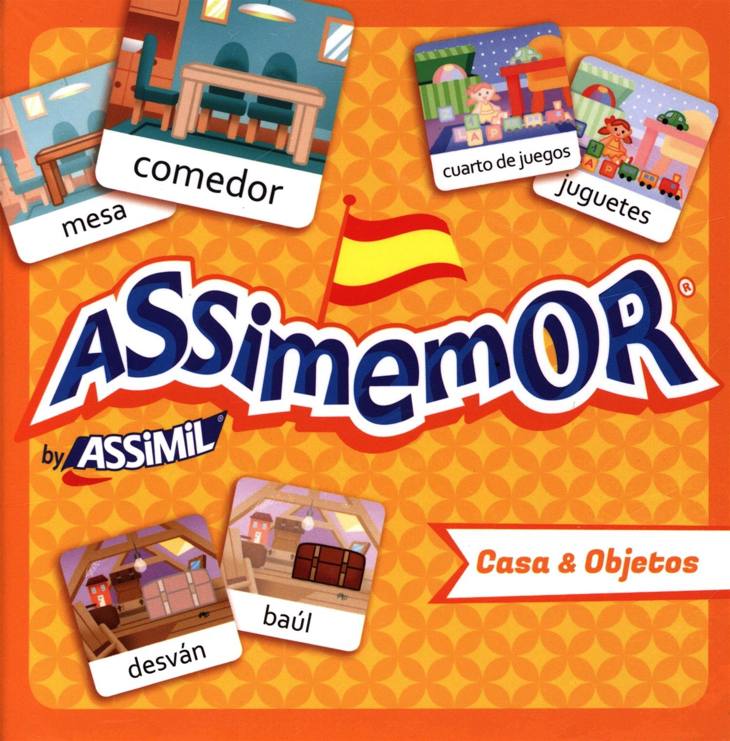 Assimemor Casa & Objetos Cartonné – 22 septembre 2016 Collectif Assimil 270059049X Età: a partire dai 5 anni