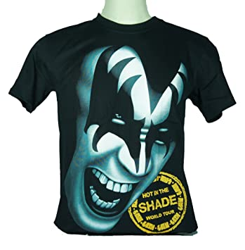 GENE SIMMONS T-SHIRTS KIZZ HOT IN THE SHADE WORLD TOUR
