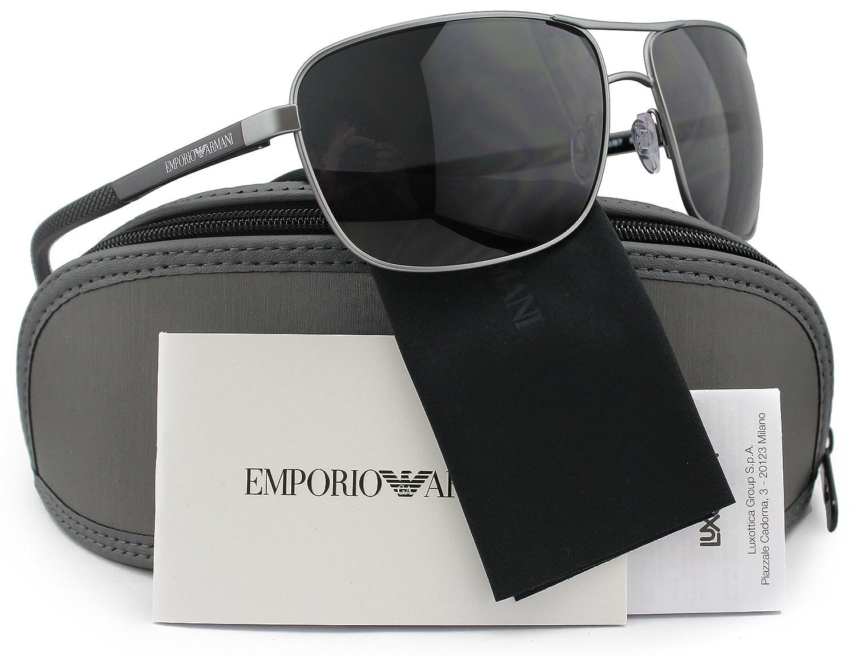 Amazon.com: Emporio Armani ea2033 Hombres anteojos de sol ...
