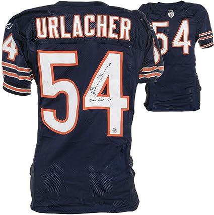 the latest 1372f 3db29 Amazon.com: Chicago Bears Brian Urlacher Reebok Game-Used ...