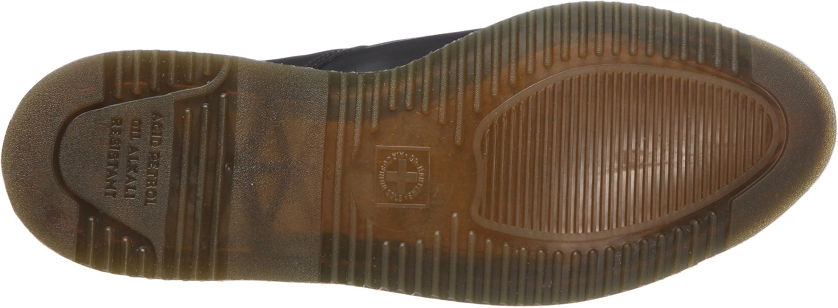 Dr. Martens Arien, Chaussures à lacets homme Noirblanc
