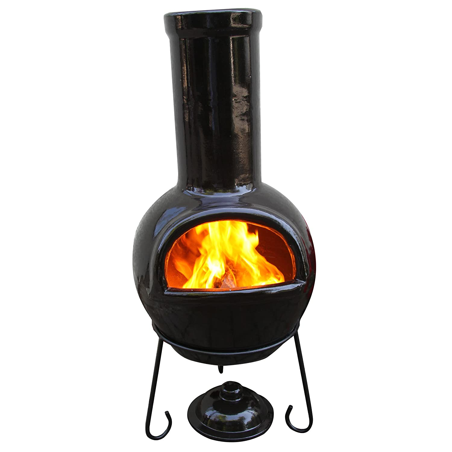 chiminea clay outdoor fireplace reviews and guide outsidemodern