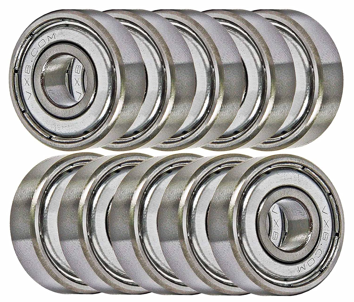 8x16 Bearing 688ZZ 8x16x5 Shielded Miniature Ball Bearings VXB