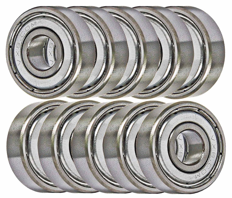 10 Bearing 6202Z 15x35x11 Single Shielded Ball Bearings VXB