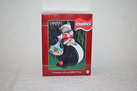 Christmas With An Oreo Twist Ornament Carlton Cards Oreo Cookie