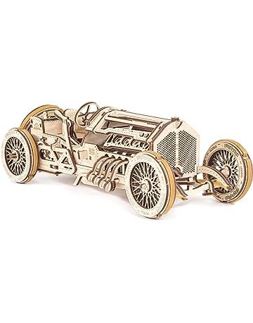 Ugears - Maqueta de Coche a Escala U9 Grand Prix de Madera | Vehículo en Miniatura. #1