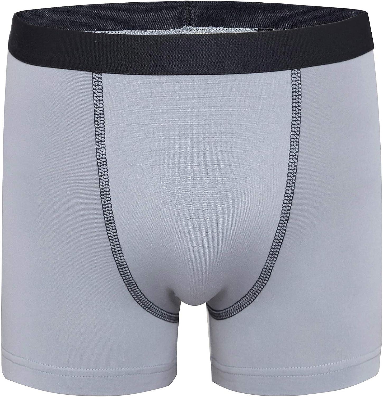 4-Pack of Boys Underwear Terramar Silkskins Boxer Brief