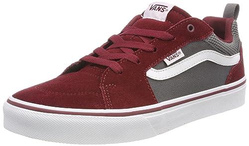 2612766ce2a Vans Boys  Filmore Suede Canvas Low-Top Sneakers  Amazon.co.uk ...