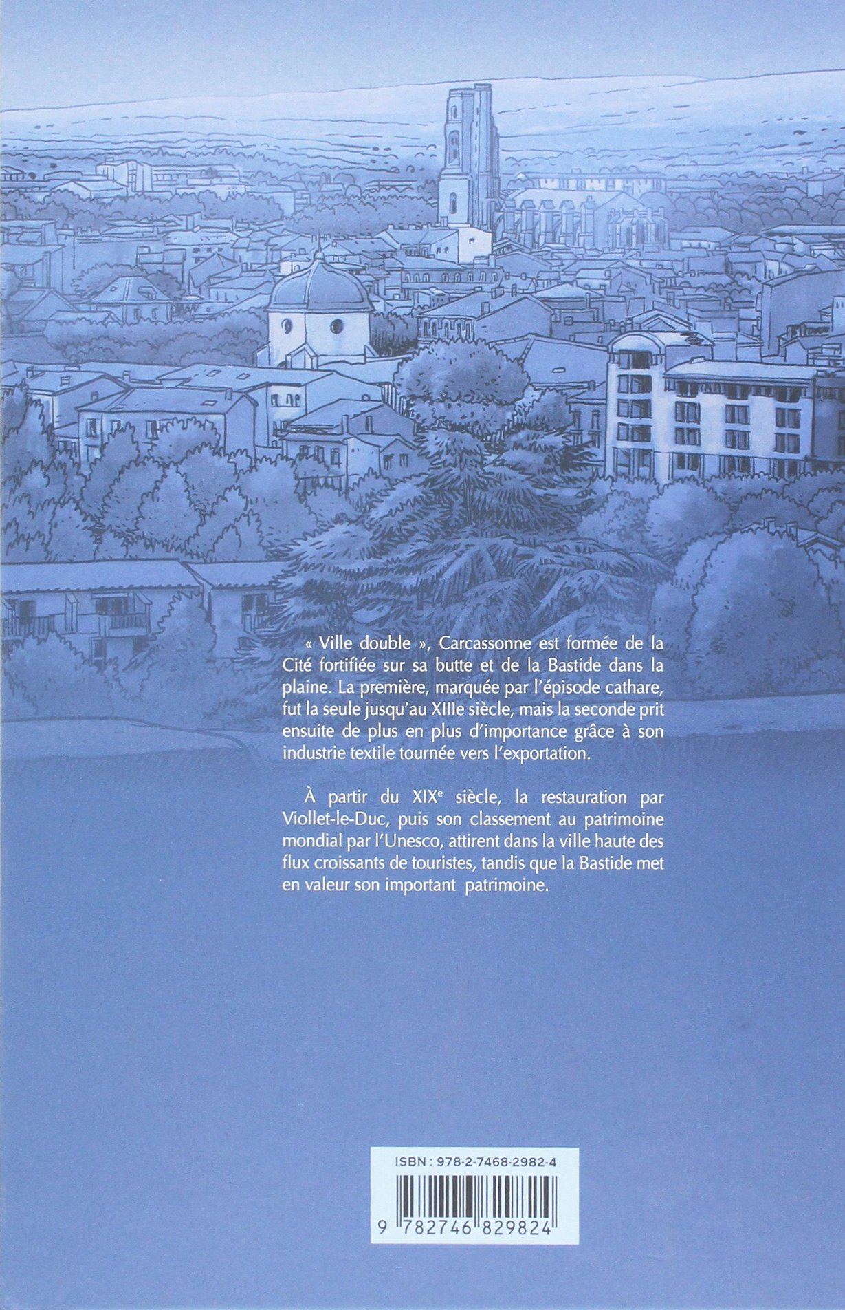 Lhistoire de Carcassone (BD LES VILLES): Amazon.es: Cuzin, Jean-Marie, Marquié, Claude, Castaza, Philippe: Libros en idiomas extranjeros