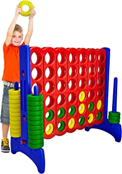 Giantville Giant 4-in-a-Row Connect Game