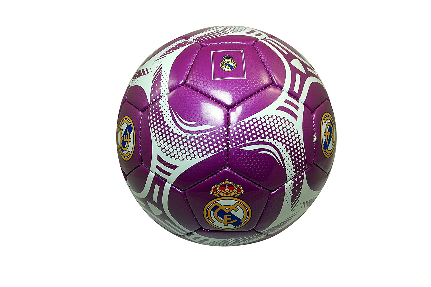 Real Madrid Authentic Official Licensedサッカーボールサイズ5 B01C7ZV356 5|レアルマドリード ボール5-006 5