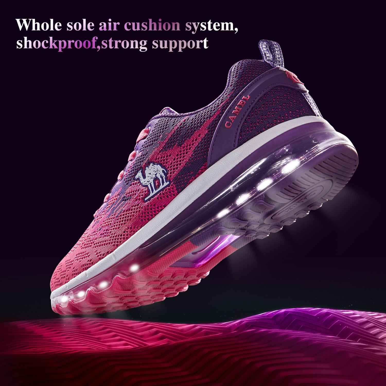 a75d83009ba ... moda ser un par de zapatos casuales. gradiente deportivo el color puede  iluminar toda tu imagen en movimiento
