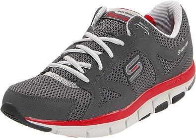 Skechers Liv-Smart Liv - Zapatillas para Hombre, Color Gris, Talla 43: Amazon.es: Zapatos y complementos