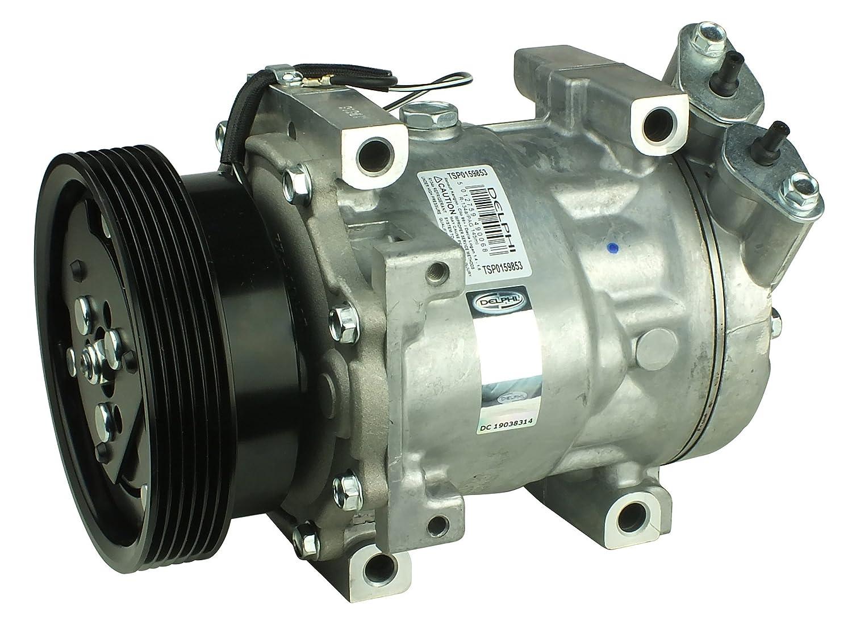 Delphi tsp0159853 Compresor, aire acondicionado Compresor, climática Compresor, aire acondicionado Compresor: Amazon.es: Coche y moto