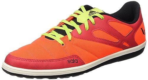 adidas Messi 15.4 Street, Zapatillas para Hombre, Naranja (Rojsol/Seliso/Negbas), 44 2/3 EU: Amazon.es: Zapatos y complementos