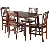 Winsome Wood Shaye Dining set, Walnut