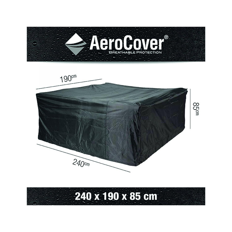 AeroCover Sitzgruppenhülle 240 x 190 x 85 cm Schutzhülle atmungsaktiv 444341