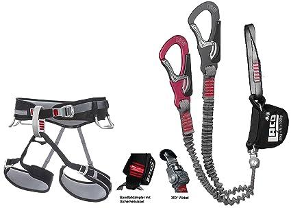Klettersteigset Unterschiedlich Lang : Klettersteigset lacd comfort kletter und klettersteiggurt