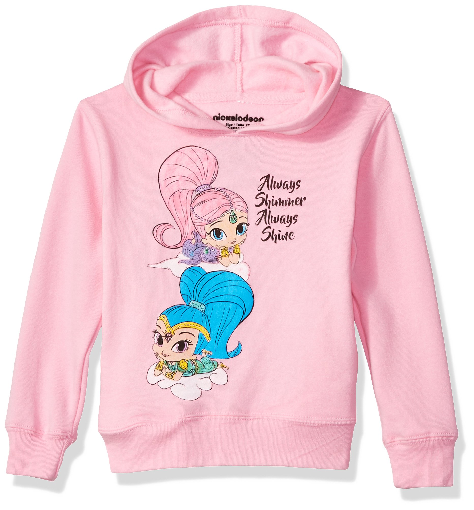 Nickelodeon Toddler Girls' Shimmer and Shine Pullover Fleece, Shimmer Shine Always, 4T