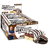 FITCRUNCH Snack Size Protein Bars, Designed by Robert Irvine, World's Only 6-Layer Baked Bar, Just 3g of Sugar & Soft Cake Co