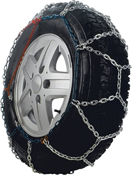 Camping-Cars Convient pour 4X4 Fourgons Taille 255 SUV Utilitaires Bottari 68010 Master Chaines /à neige 16 mm