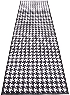Black Accent Rug Set 15730 Chesapeake Portland Houndstooth 2Pc 21x34 Chesapeake Merchandising Inc.
