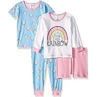 Gerber Conjunto de Pijama de 4 Piezas para niñas