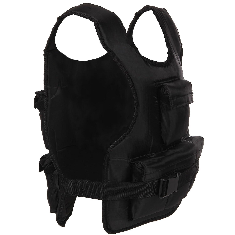 ScSPORTS 1220072 - Chaleco lastrado (10 kg), Color Negro