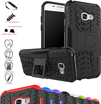 MAMA MOUTH Galaxy A3 2017 Funda, Heavy Duty Silicona híbrida con ...