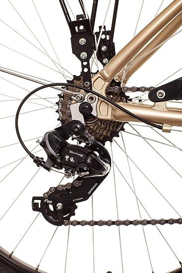 Wolfbike Serena Tx-300 7V T18 Bicicleta, Unisex Adulto, Crema, 18 ...