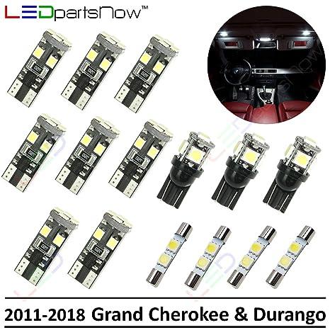 Amazon.com: LEDpartsNow 2011-2018 Jeep Grand Cherokee ...