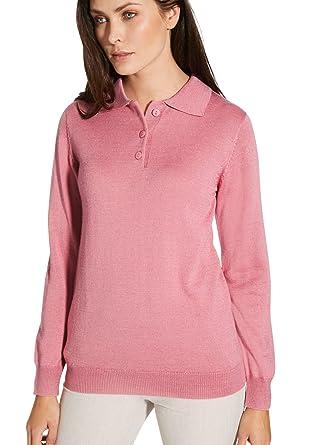 1eed241f34465 Balsamik - Pull col Polo - Femme  Amazon.fr  Vêtements et accessoires