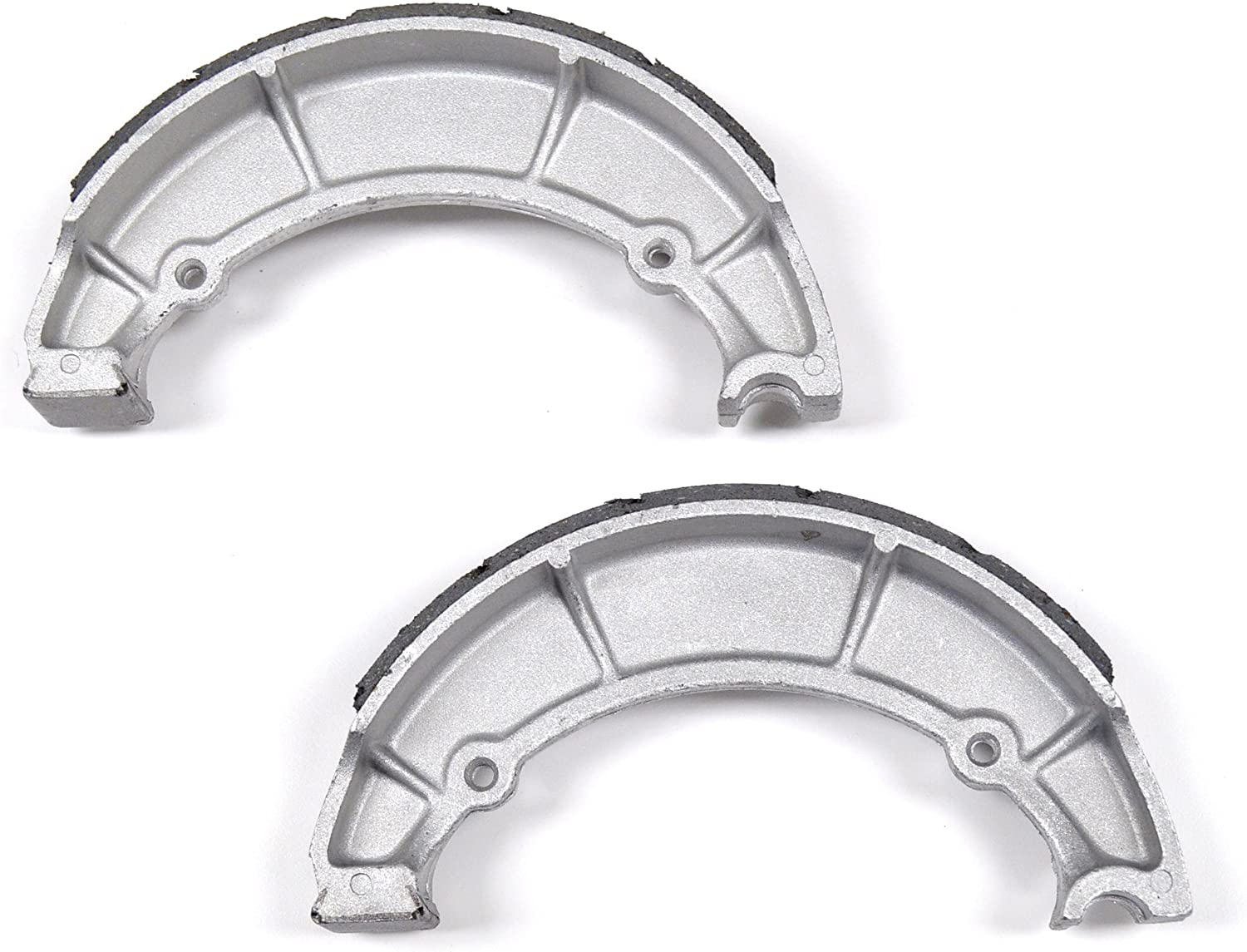 Yamaha XJ650 RJ Seca 1982 Rear Grooved Brake Shoes by Niche Cycle Supply