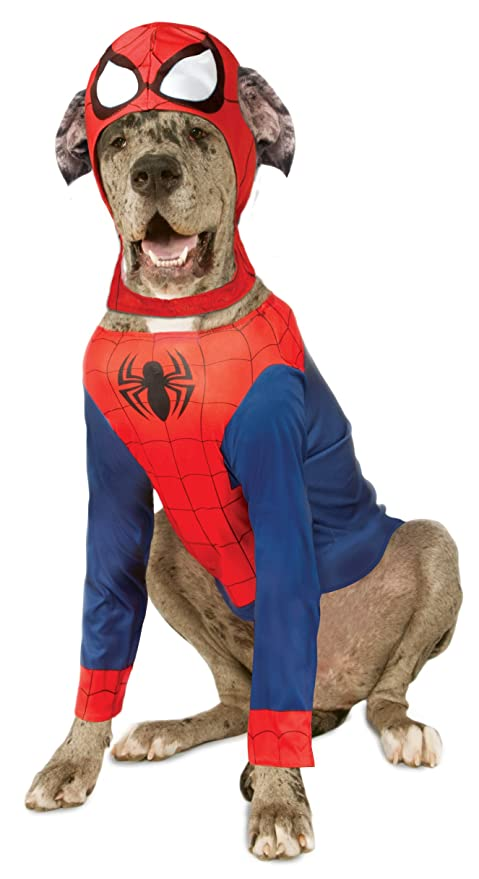 Rubieu0027s Marvel Spider-Man Pet Costume XX-Large  sc 1 st  Amazon.com & Amazon.com : Rubieu0027s Marvel Spider-Man Pet Costume XX-Large : Pet ...