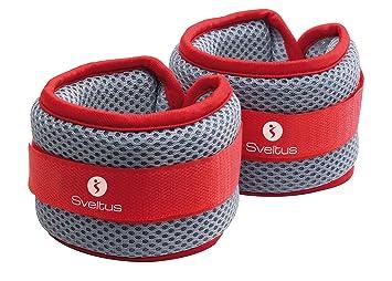 Sveltus Pesas Ajustables para el Agua Aqua Band, 2X 500 g: Amazon.es: Deportes y aire libre