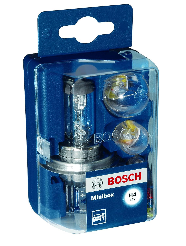 Bosch, Automotive Bulb Kit, H4 Minibox 1987301101