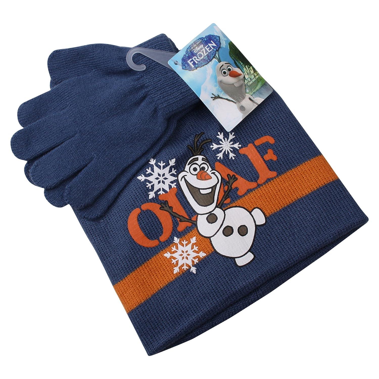 Disney Girl's Olaf Scarf, Hat & Glove Set Disney Girl's Olaf Scarf Frozen